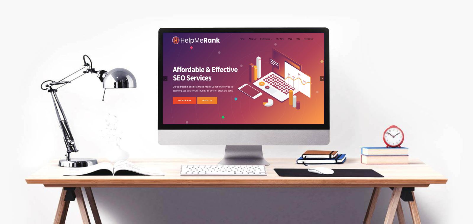 seo and web design banner